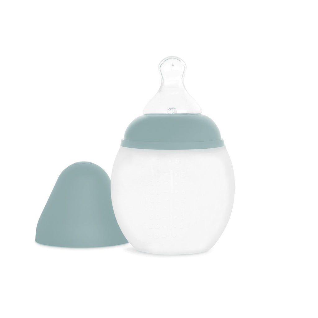 Élhée usa baby bottle ivy green