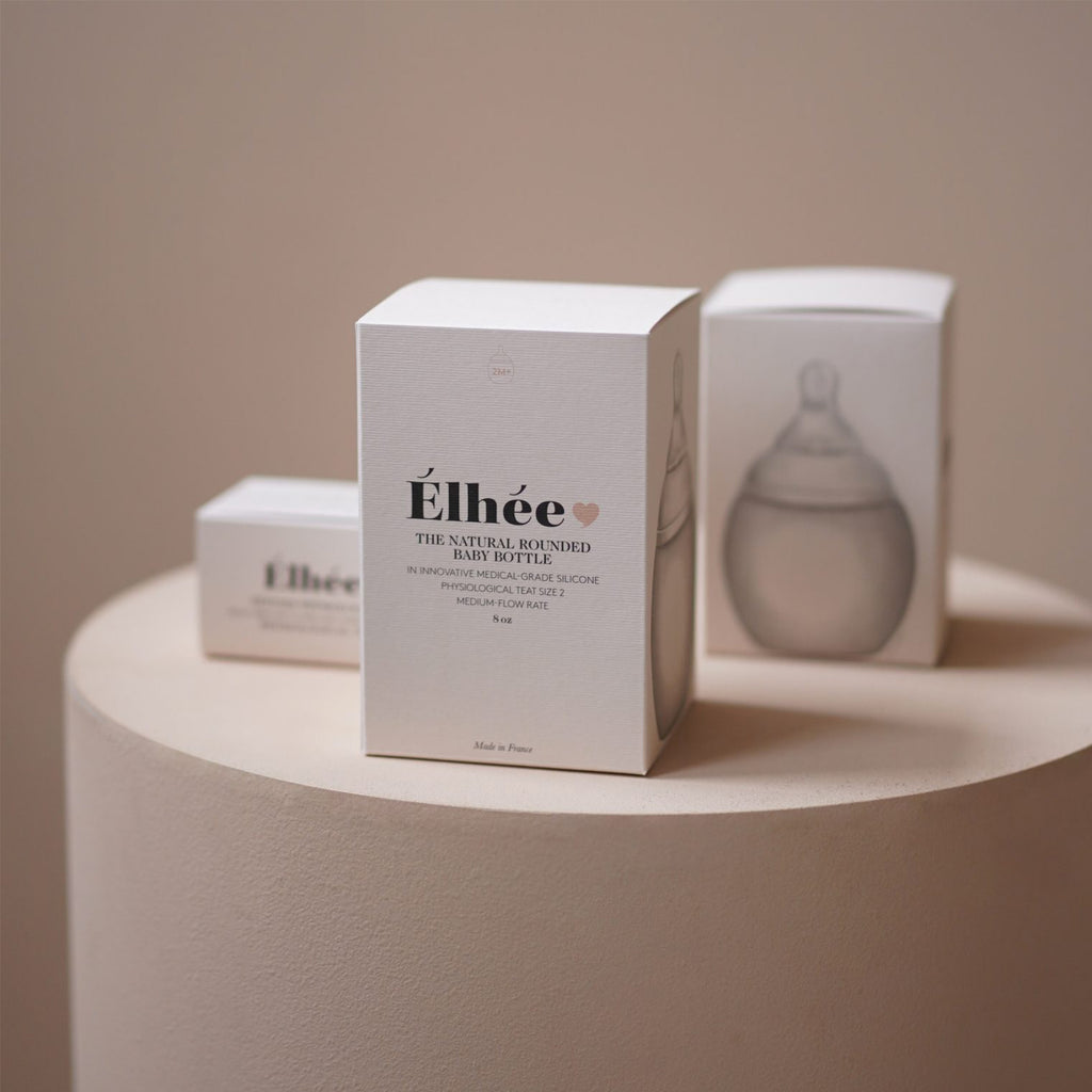 Élhée usa baby bottle packaging