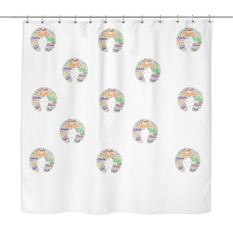 Electta Showers Shower Curtain