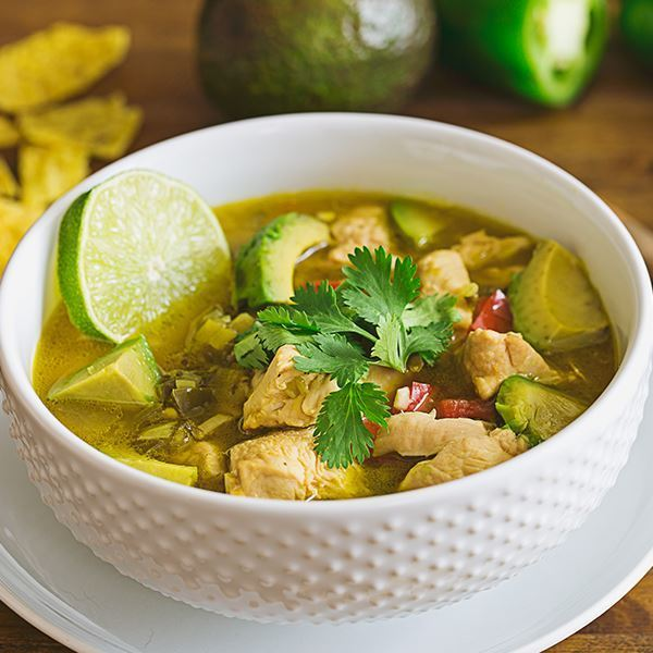 Summer Chicken and Lime Soup