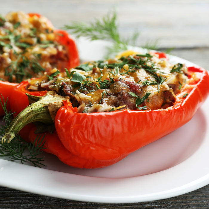 Bell Pepper and Wild Rice Salad