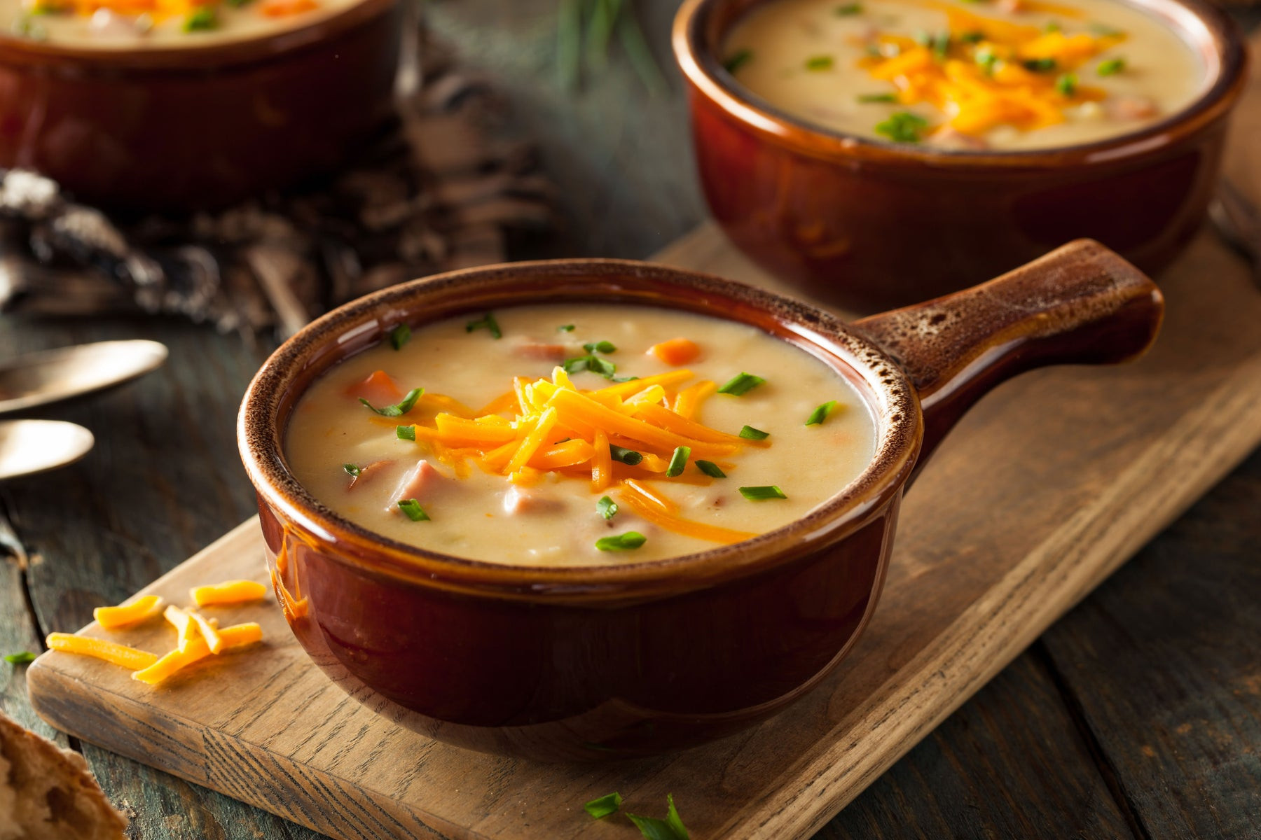 Cheddar and Beer Soup