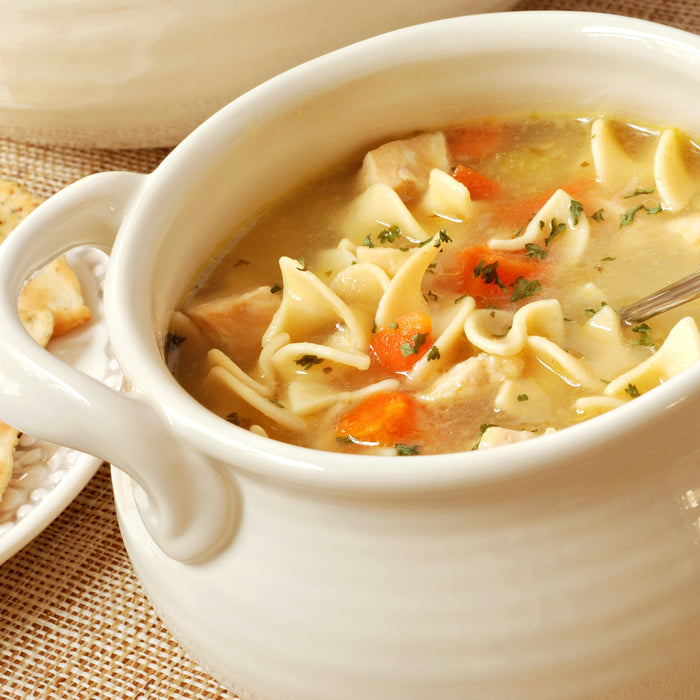 Chef Mick's Old-Fashioned Chicken Noodle Soup