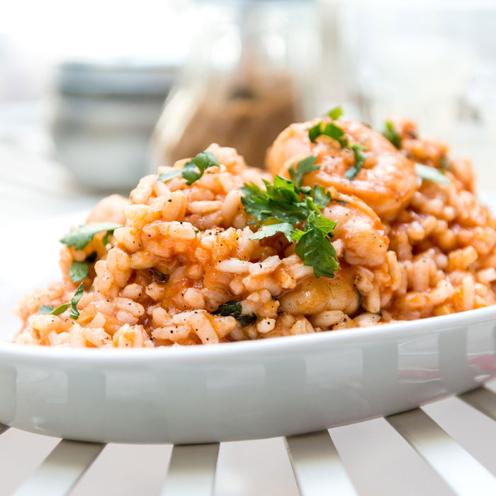 Herbed Shrimp Risotto