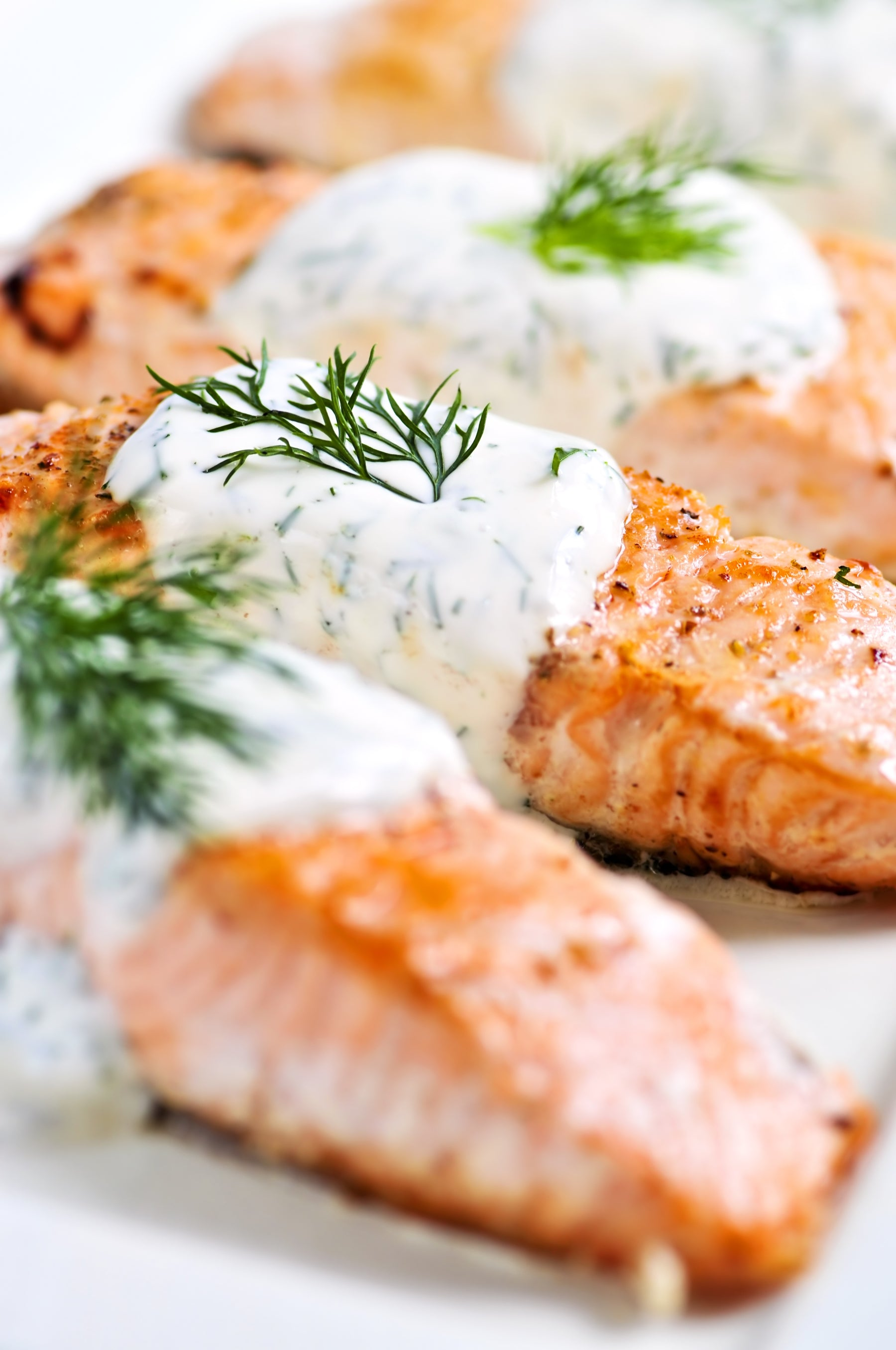 Lemon Dill Poached Salmon