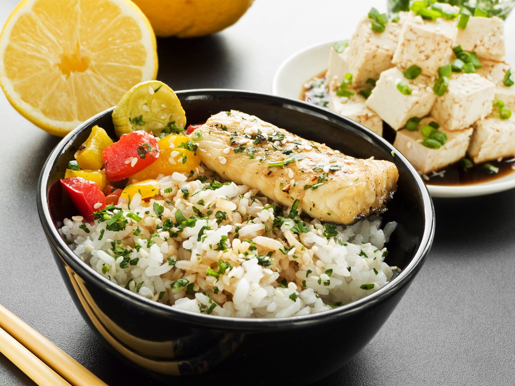 Lemon Jasmine Rice