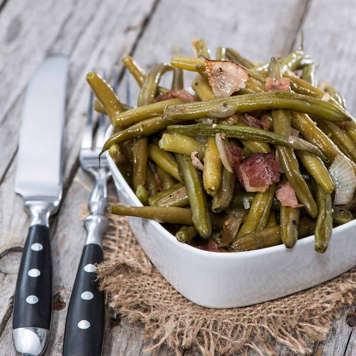 Savory Green Beans with Bacon