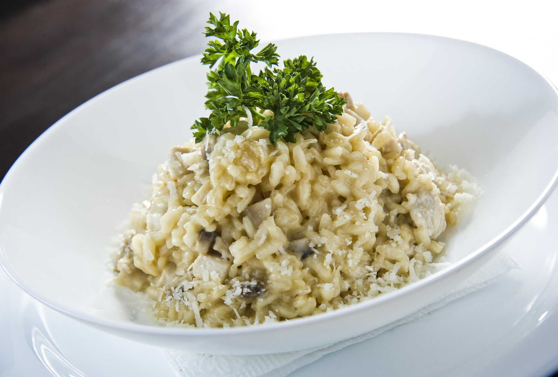 Simple Fish Risotto with Fennel and Lemon
