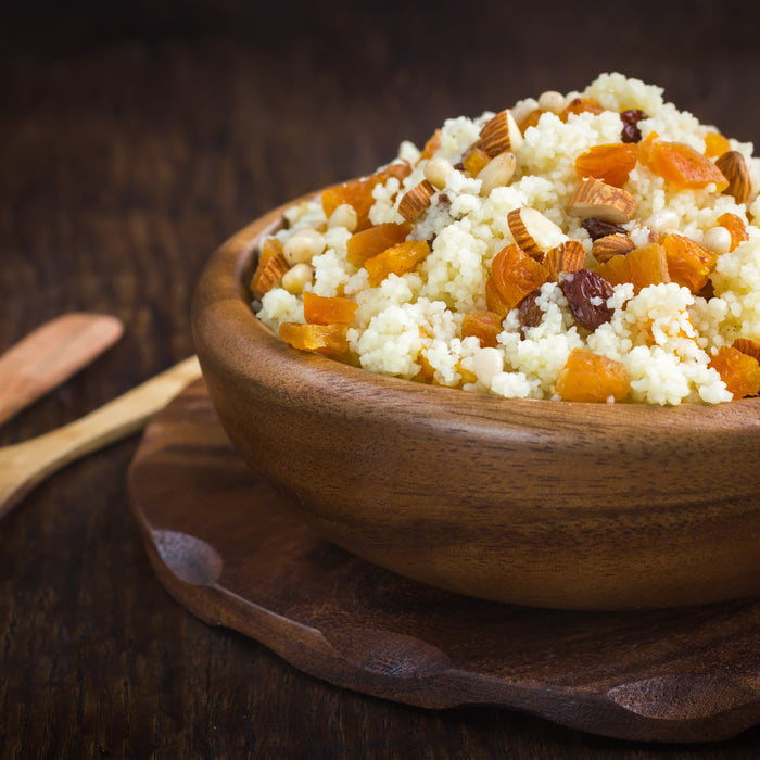 Spiced Couscous with Dried Fruit
