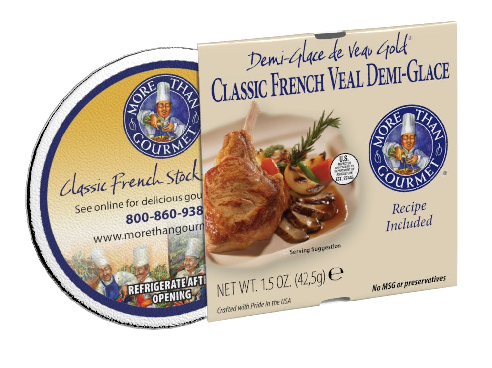 Classic French Veal Demi Glace