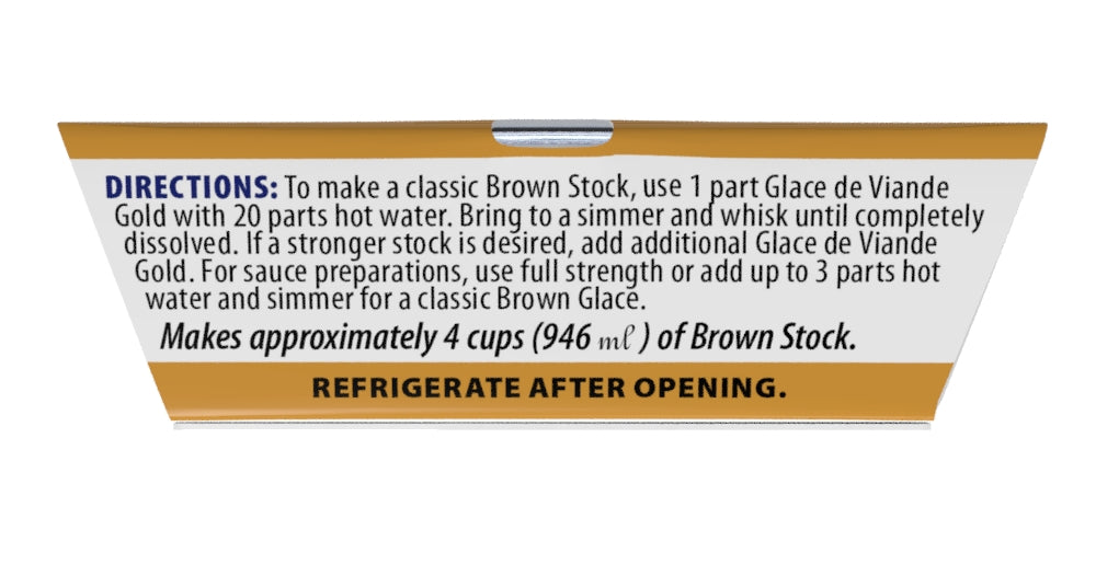 Veal and Beef Stock 1.5oz - 6 Pack