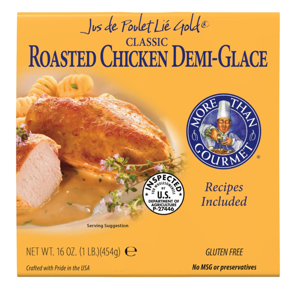 Roasted Chicken Demi-Glace