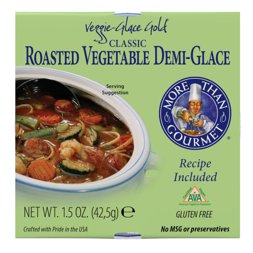 Classic Roasted Vegetable Demi Glace