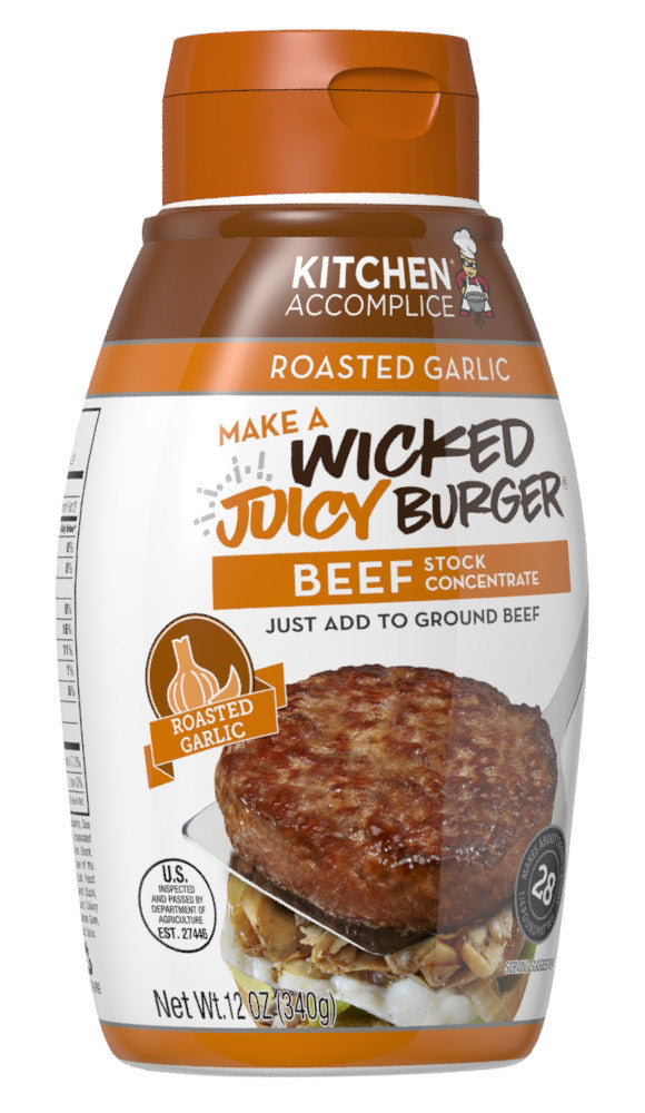 Wicked Juicy Burger Beef - Roasted Garlic