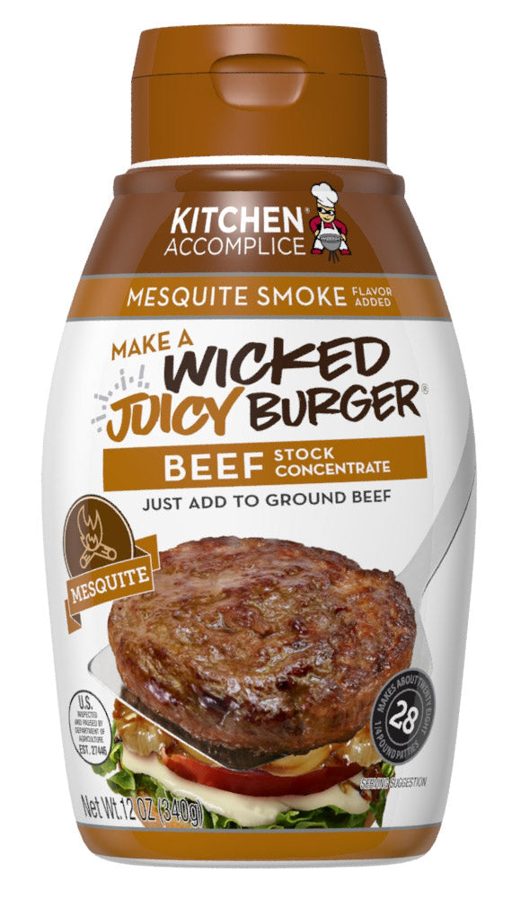 Wicked Juicy Burger Beef - Mesquite Smoke