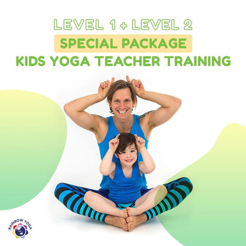 Become a Specialist Rainbow Yoga Teacher: Take The Full Level 1+2 Magical Kids Yoga Journey With Us (Special Package Price) - RainbowYogaTraining