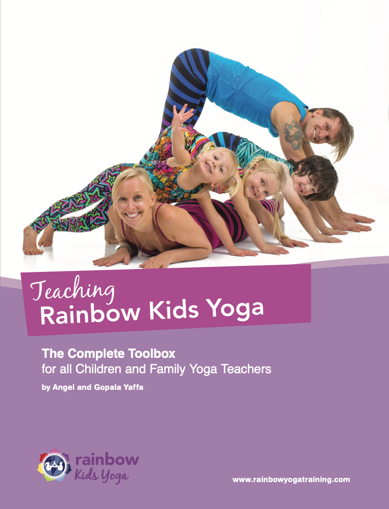 Rainbow Kids Yoga Book - RainbowYogaTraining