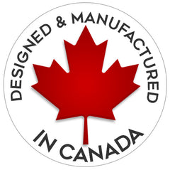 Designed & manufactured in Canada