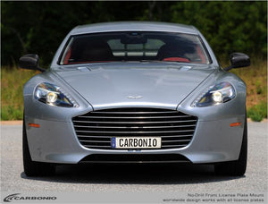 Aston Martin Rapide No-Drill Front License Plate Mount