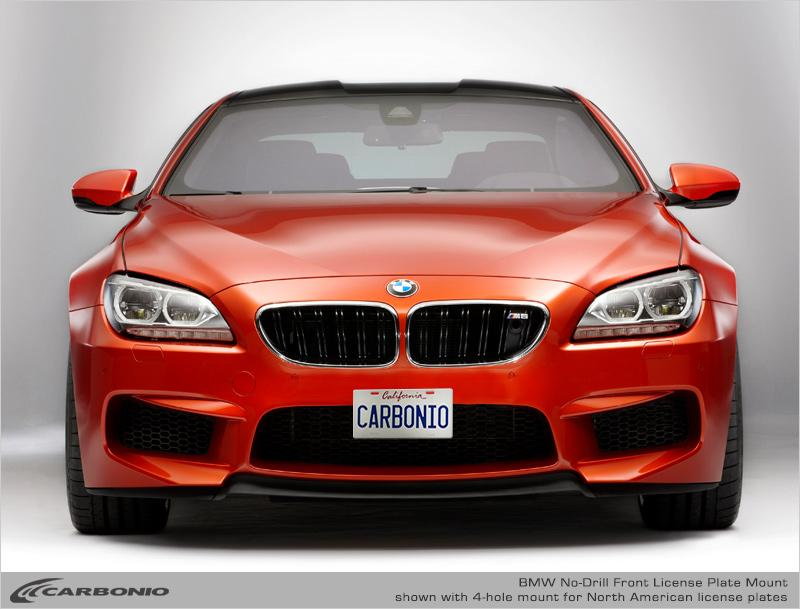 BMW M6 No-Drill Front License Plate Mount