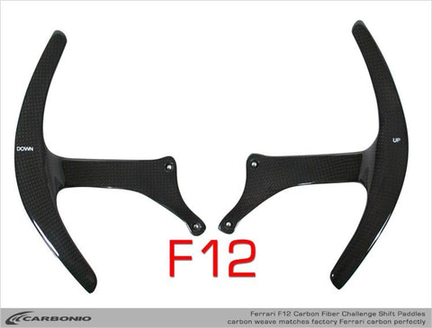 Ferrari F12 Challenge Shift Paddles
