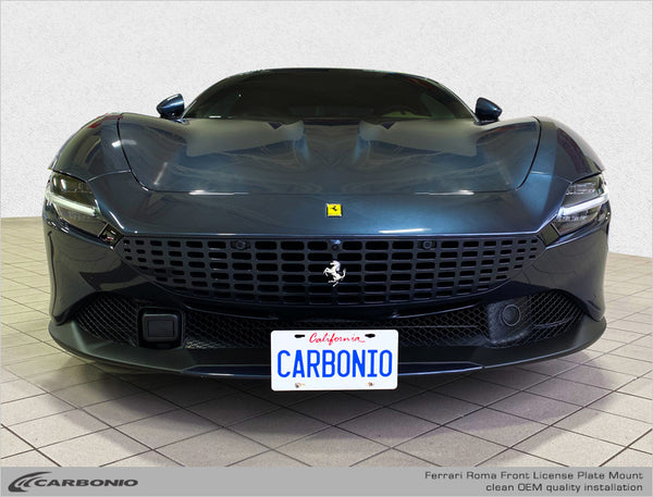 Ferrari Roma License Plate Mount