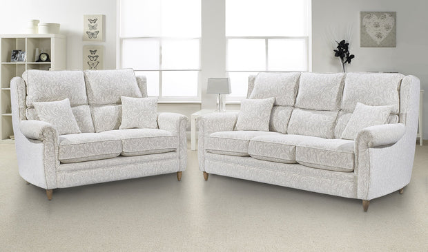 Lebus Alina 3 Seater High Back Sofa
