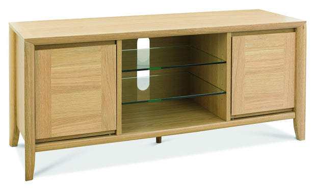 Bentley Designs Bergen Oak Entertainment Unit