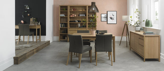 Bentley Designs Bergen Oak 4-6 Extension Table