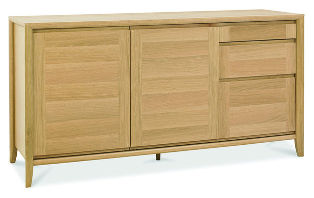 Bentley Designs Bergen Oak Wide Sideboard