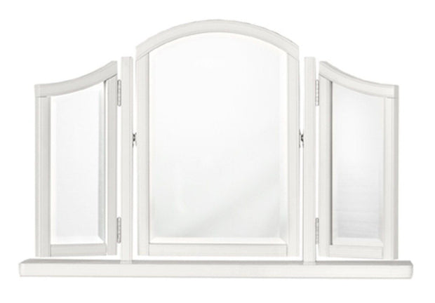 Bentley Designs Chantilly White Gallery Mirror