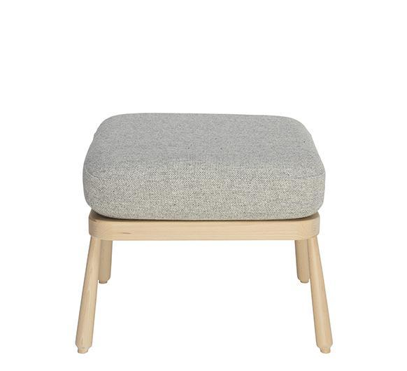 Ercol Evergreen Footstool with Painted Finish