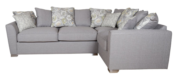 Fantasia 2 by 1 Seater Right Hand Facing Pillow Back Sofa Bed Corner Group