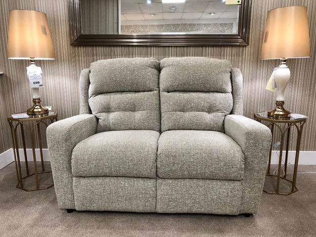 Furnico Cosgrove 2 Seater Static Sofa - Larry Mink