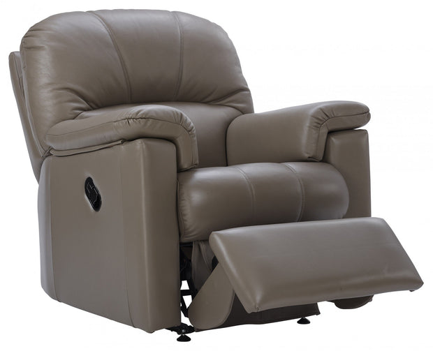 G Plan Chloe Leather Small Recliner Armchair