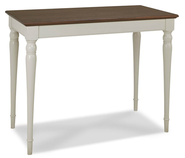 Bentley Designs Hampstead Soft Grey & Walnut Bar Table