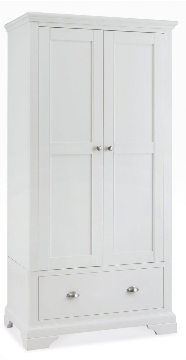Bentley Designs Hampstead White Double Wardrobe