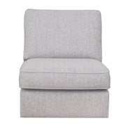 Memphis Left Hand Facing Chaise Corner Group with Footstool