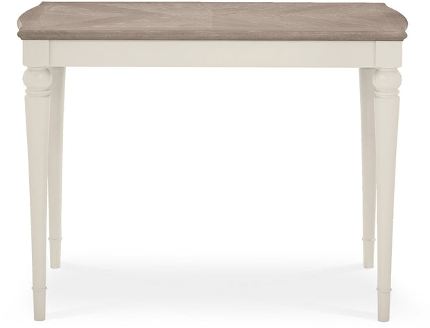 Bentley Designs Montreux Grey Washed Oak & Soft Grey Bar Table