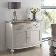 Bentley Designs Montreux Grey Washed Oak & Soft Grey Narrow Sideboard