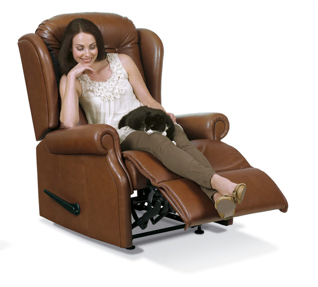 Sherborne Lynton Leather Recliner Chair