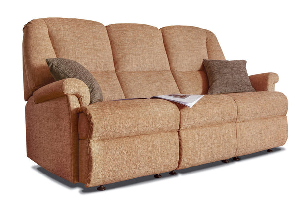 Sherborne Milburn Fabric Fixed 3 Seater Sofa