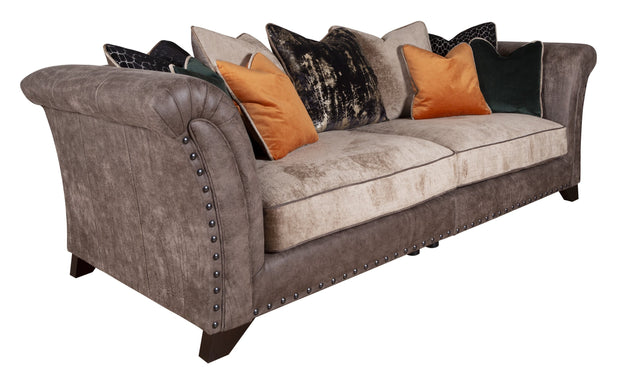 Weston 4 Seater Modular Pillow Back Sofa