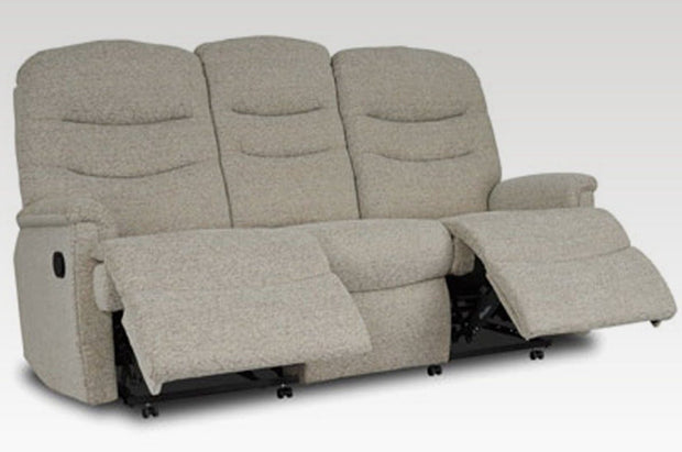 Celebrity Pembroke 3 Seat Recliner Fabric Settee