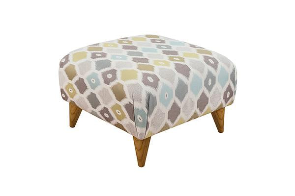 Small Accent Style Footstool