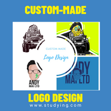 Load image into Gallery viewer, Custom-Made Logo Design