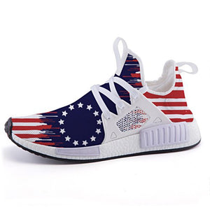 Betsy Ross Flag Sneaker Collection from Freaky Shoes