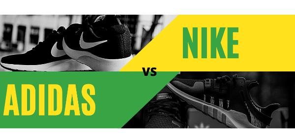 Nike versus Adidas: Difference between Adidas and Nike