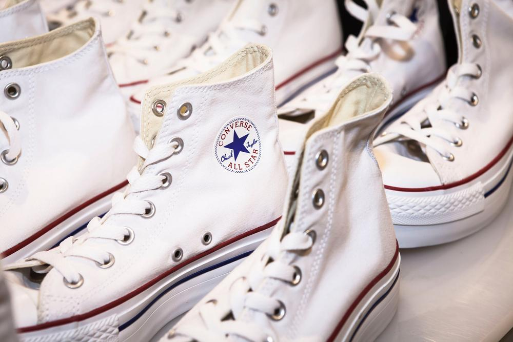 The Guide To White And Sparkling Converse Shoes