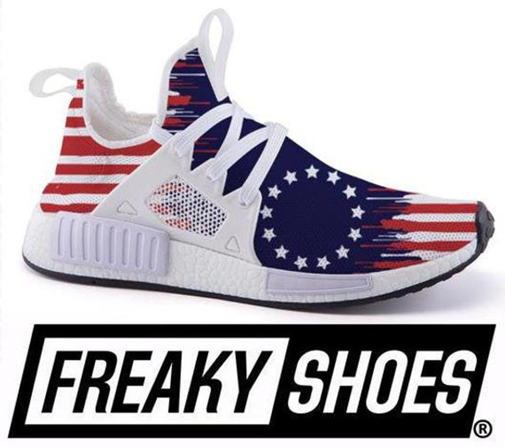 Betsy Ross Flag Shoes